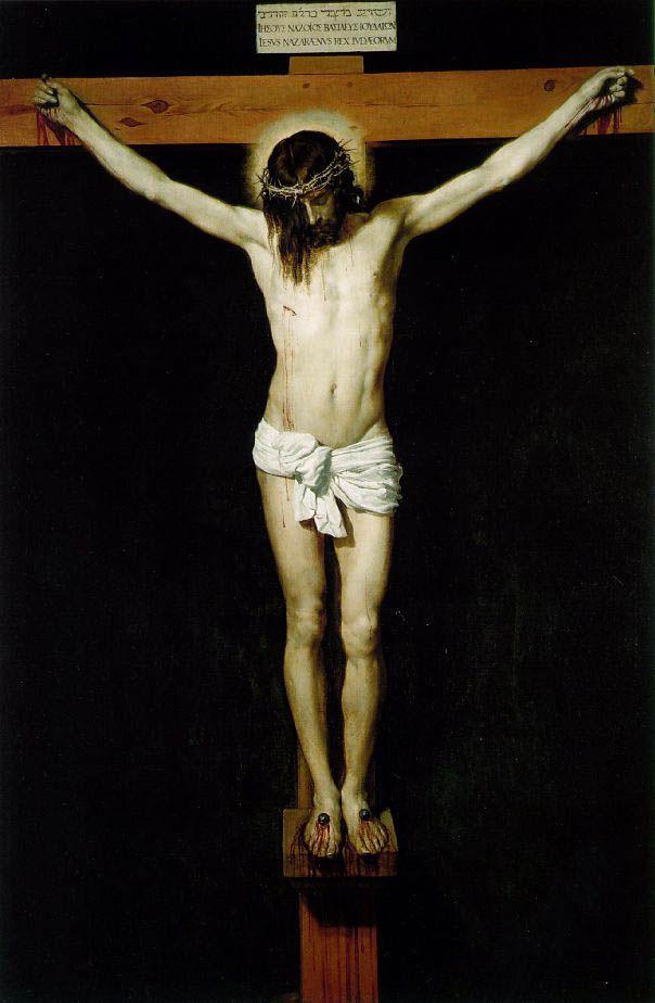 Cristo crucificado. Velázquez. 1631-1632 : Observatorio - Obra de arte del día