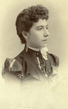 Josephine Sarah Marcus left a relationship with Johnny Behan for his political & personal antagonist Wyatt Earp. This photo by C.S. Fly is the only known image of her from the Tombstone era. She became Wyatt Earp's common-law wife for 46 years.