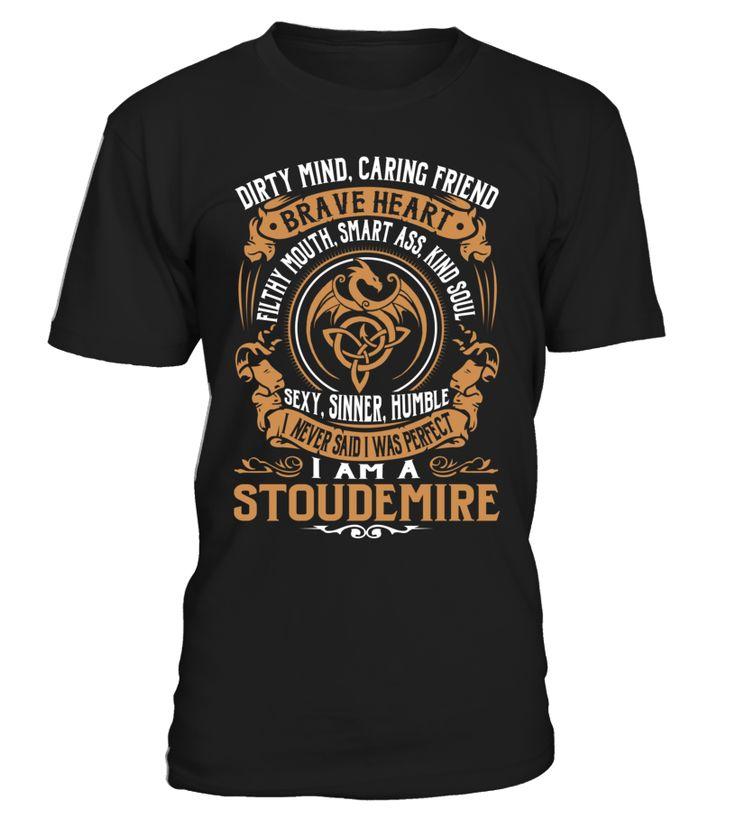 STOUDEMIRE Brave Heart Last Name T-Shirt #Stoudemire