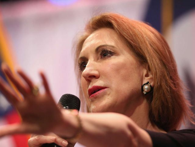 If the next presidential election were held tomorrow, a respected poll says that Carly Fiorina could beat Hillary Clinton.