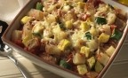 Tuscan potatoes and vegetables