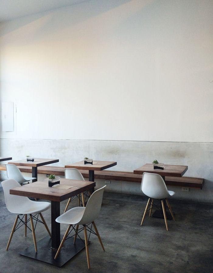 AP Café 420 Troutman St., Brooklyn from blog: http://farandclose.com/