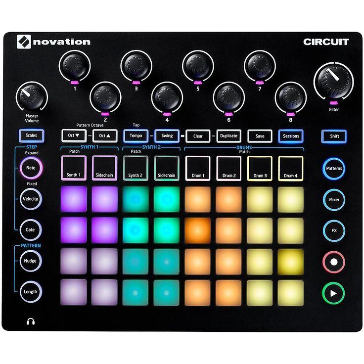 Novation Circuit Groove Box + Sample Import Drum