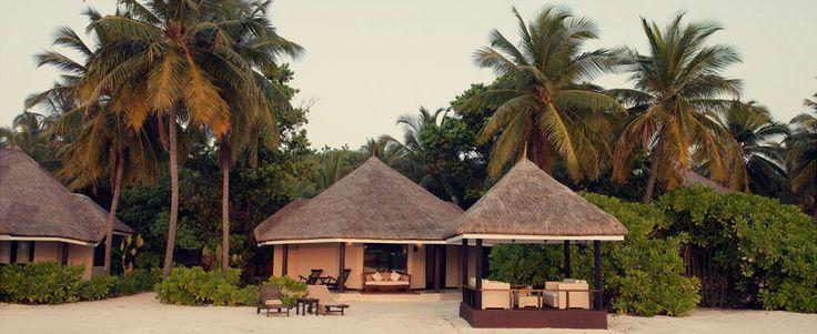 Beach villa at Kihaad Maldives --->> www.voyagewave.com