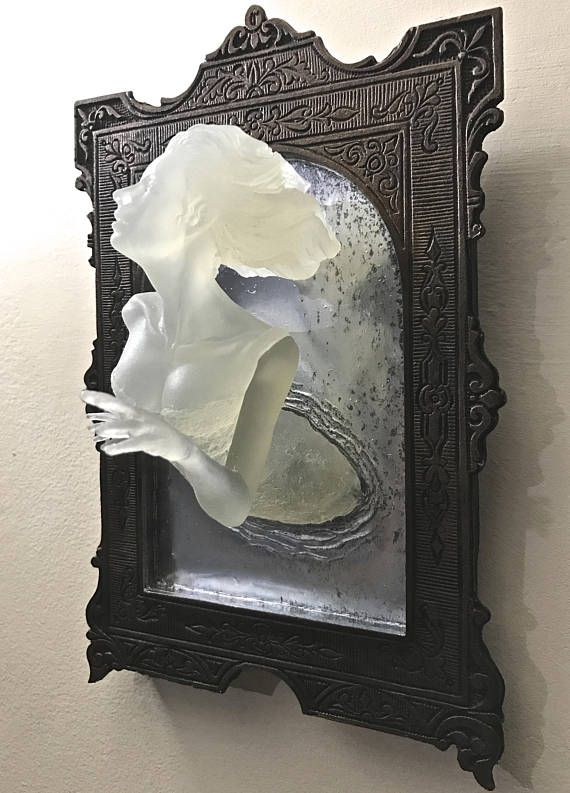 Preorder Ghost In The Mirror Wall Plaque Glow In The