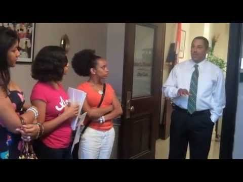 ▶   AVillage-WMHT Albany A+PLUS Summer Youth Employment student reporters visit city hall to learn more about how the city of Albany is run.