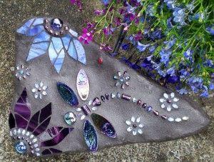 Dragonfly Rocks .... Found on Dragonfly Rocks.  Original Garden Art by Carol Deutsh