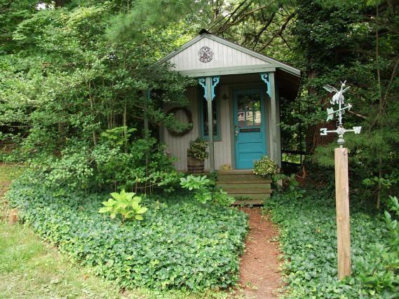 victorias garden in indiana fine gardening - Garden Sheds Indiana