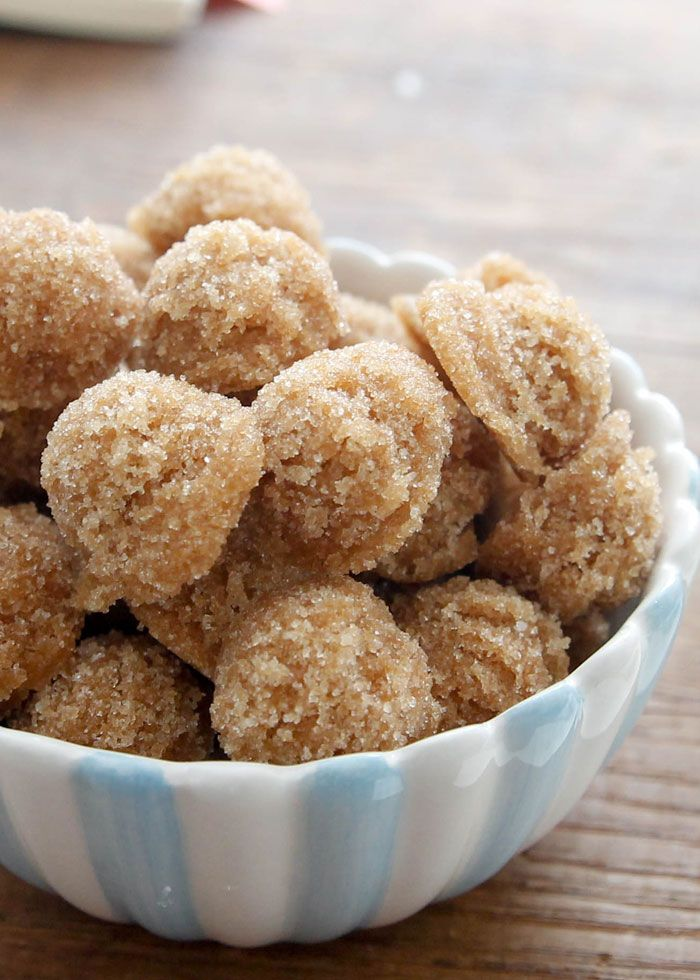 Brown Sugar Cubes-easy to make and a fun treat with your coffee or tea!