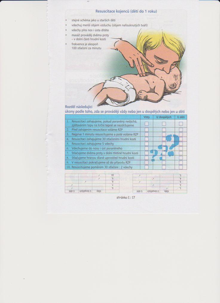 resuscitace kojenců