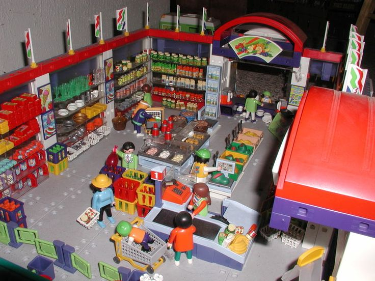 Instructions for supermarket 3200   playmobil   Playmobil ...