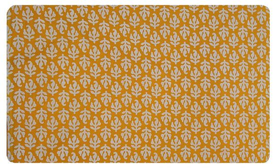 5 yards Yellow Leaf print Fabric,Indian Cotton Fabric, Bagru Print Fabric, Cotton Fabric, Sanganer Print Fabric, Block Print Fabric  #052