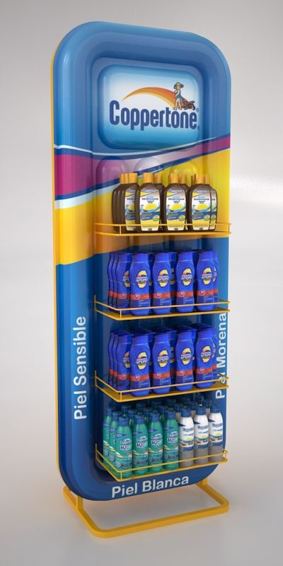 Coppertone Displays by Ricardo García at Coroflot.com