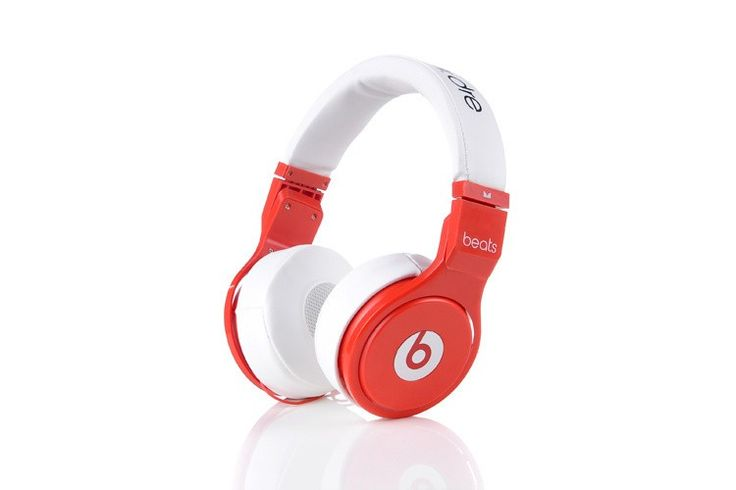 White/Red Monster Beats by Dr.Dre Pro Mini headphones Sale