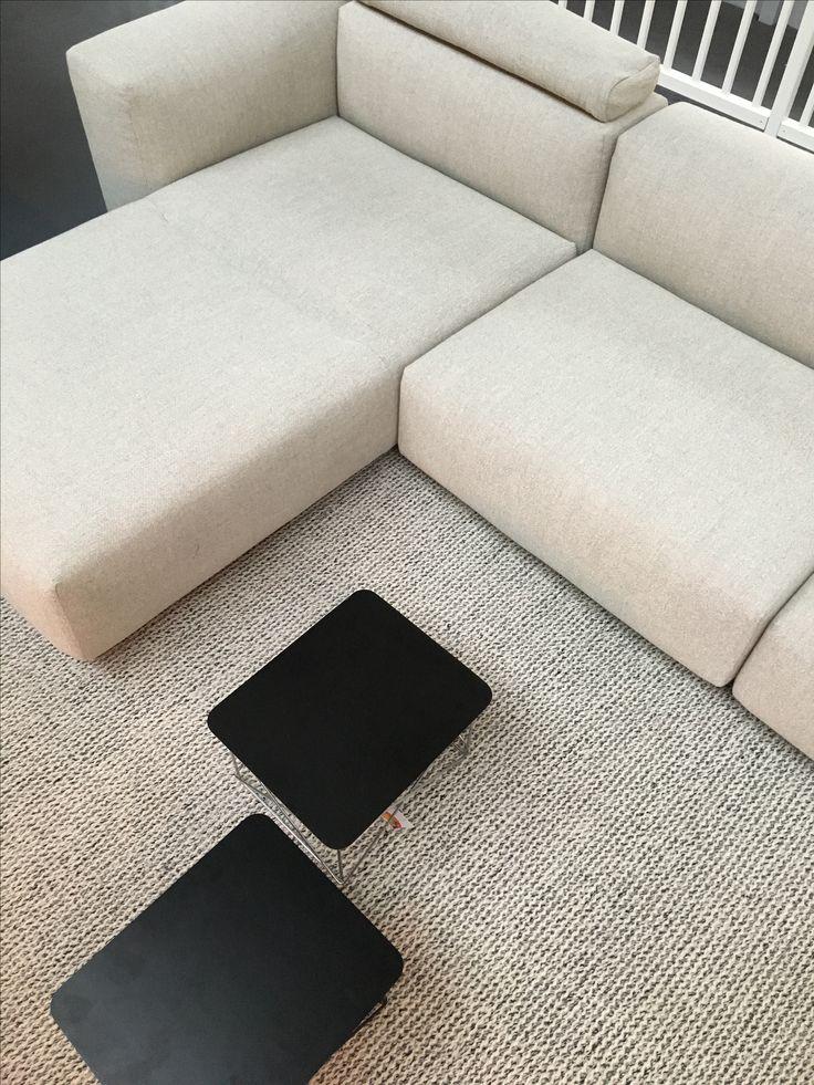 Vitra Soft Modular Sofa in Dumet fabric.