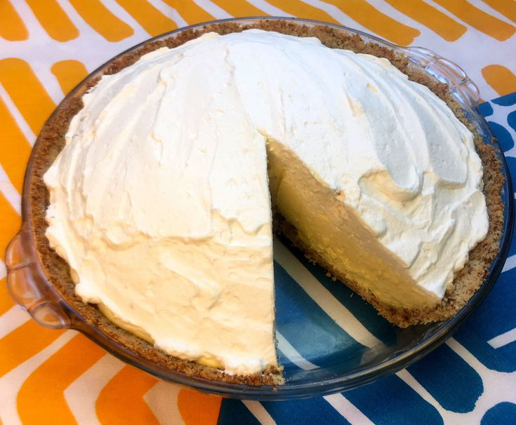Low Carb Banana Cream Pie Recipe