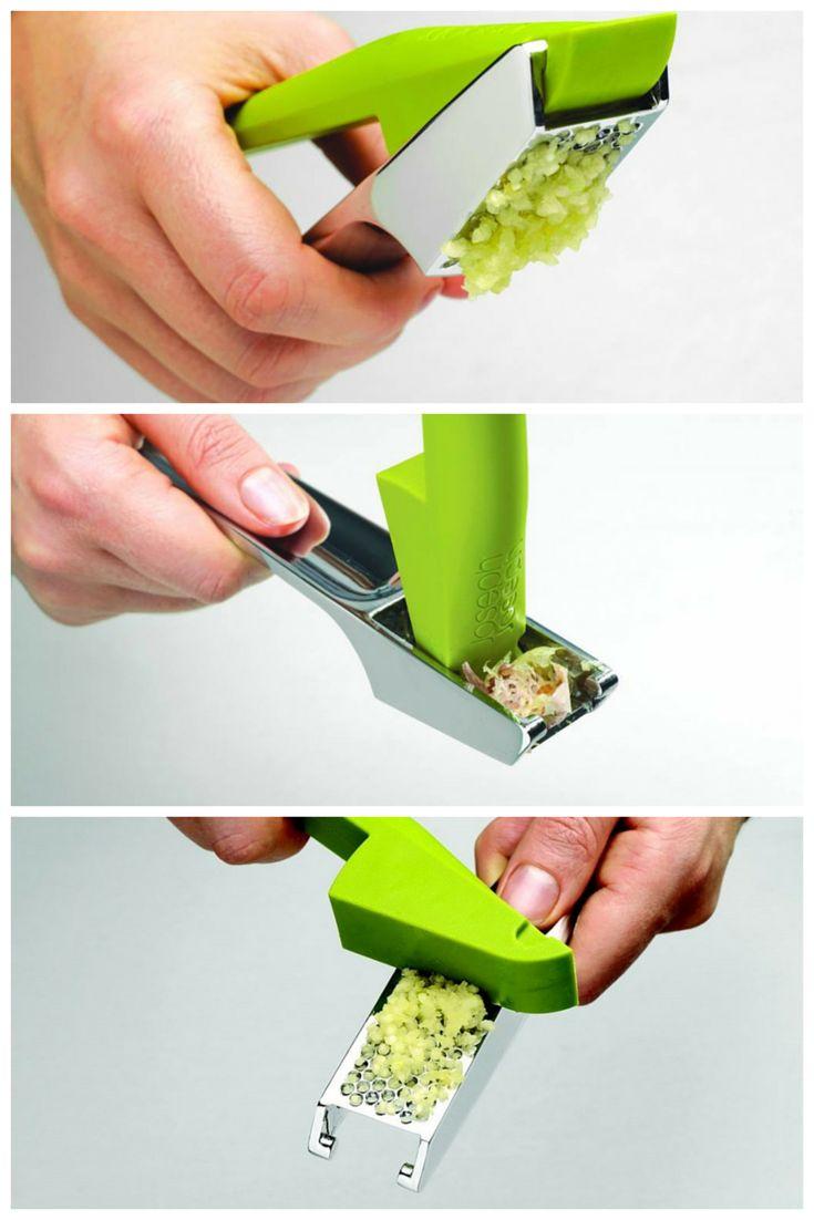 Измельчитель для чеснока Easy-press™ зеленый  От Joseph Joseph