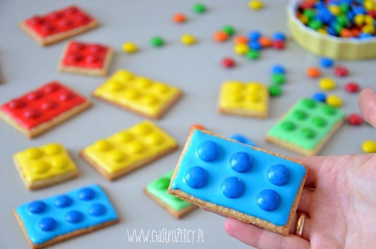 ciasteczka Lego / Lego cookies