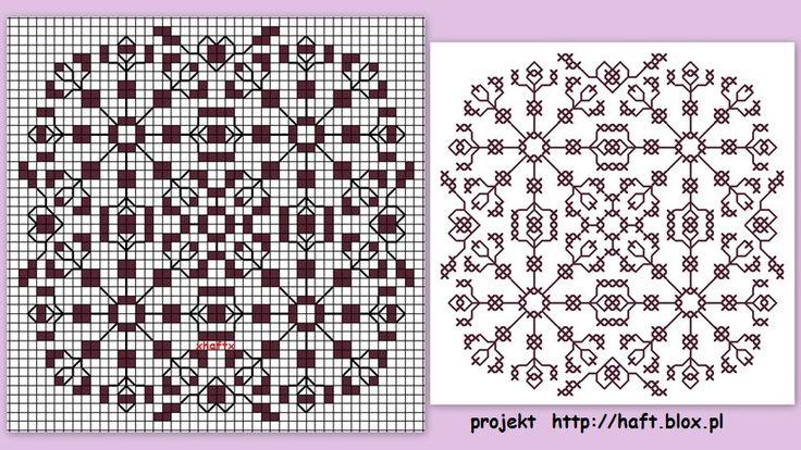 Małe hafty  - moje projekty