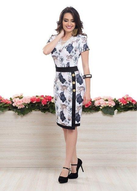 a8a358c0b Vestido Rebeca - Bella Herança | Outfit en 2019 | Dresses, Fashion ...
