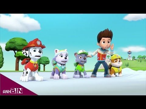 Paw Patrol Chase and Skye Painter Lie Funny Story! Learn Colors Paw Patr...