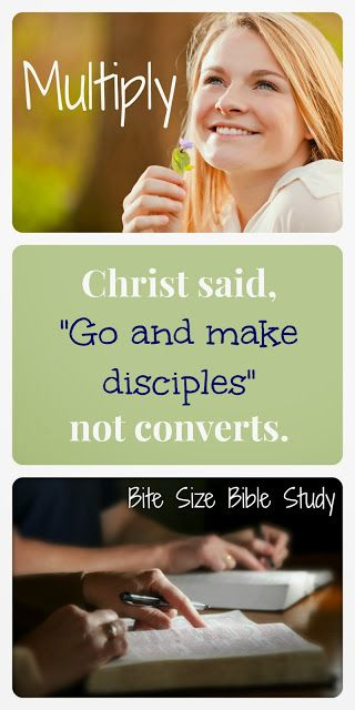 """Christ told us to go and make disciples and """"Teach these new disciples to obey all the commands I have given you."""" Matt.28:20 (NLT). This 1-minute devotion discusses the difference between converts and disciples and why the diference matter.キリストは「。。行って、あらゆる国の人々を弟子としなさい。。」と言われたのであって、「。。人々を改宗させなさい。。」とは言われませんでした。(マタイの福音書28:20また、わたしがあなたがたに命じておいたすべてのことを守るように、彼らを教えなさい。見よ。わたしは、世の終わりまで、いつも、あなたがたとともにいます。」)"""