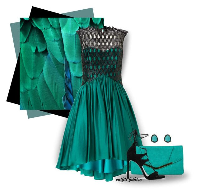 Prom by outfitsfashion4 on Polyvore featuring polyvore fashion style Ariella Stuart Weitzman Gunne Sax By Jessica McClintock Christina Debs clothing