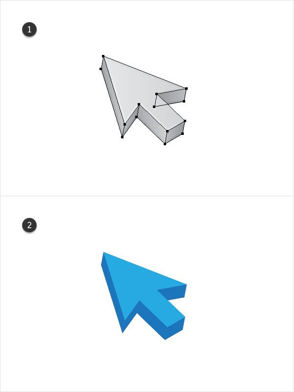 Quick Tip: How to Create a 3D Cursor in Adobe Illustrator
