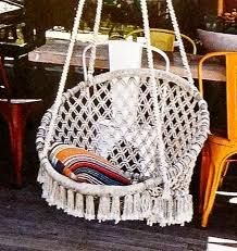 7 Best Macrame Images On Pinterest Hanging Chairs Chairs And