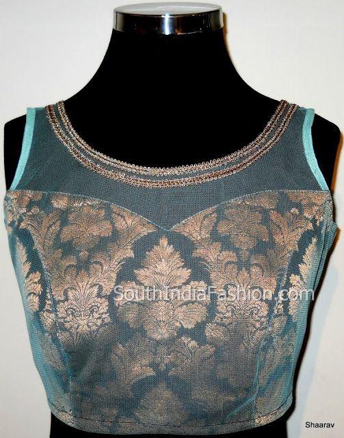 Blouse Designs ~ Celebrity Sarees, Designer Sarees, Bridal Sarees, Latest Blouse Designs 2014