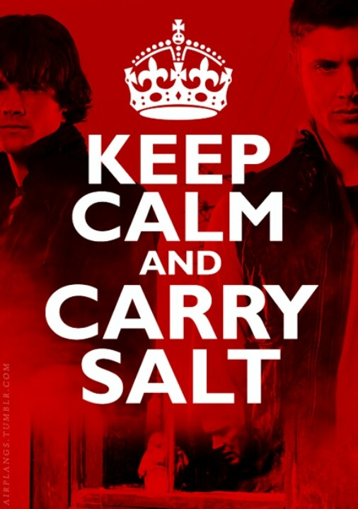 You heard the thing CARRY SALT