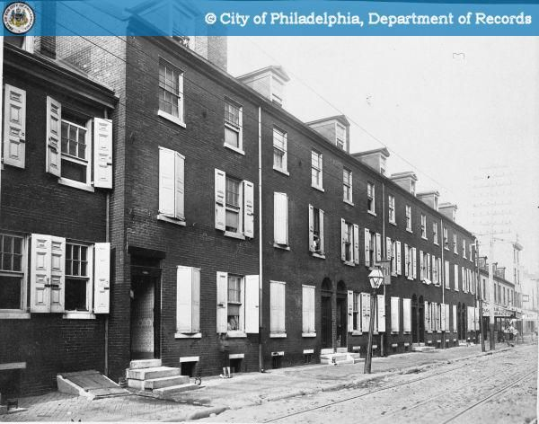 phillyhistory org   1224 1236 callowhill street old city