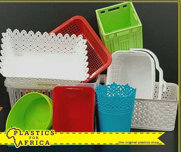 Need extra storage space? At #PlasticsforAfrica, we stock a huge range of small baskets and containers for fridge and general household storage. #storage