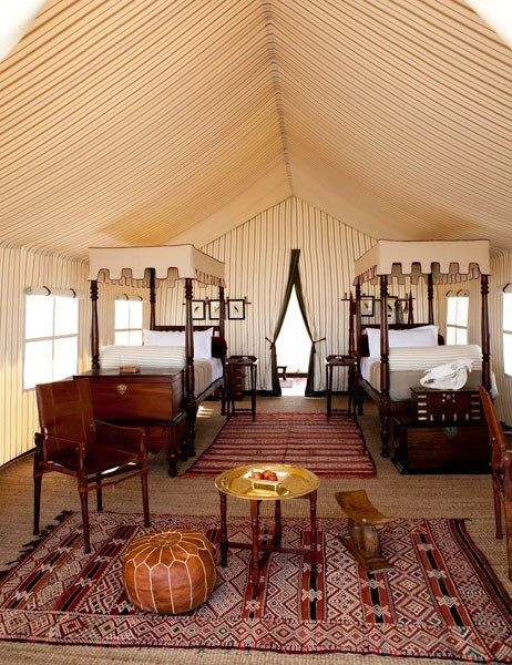 San Camp, Botswana.