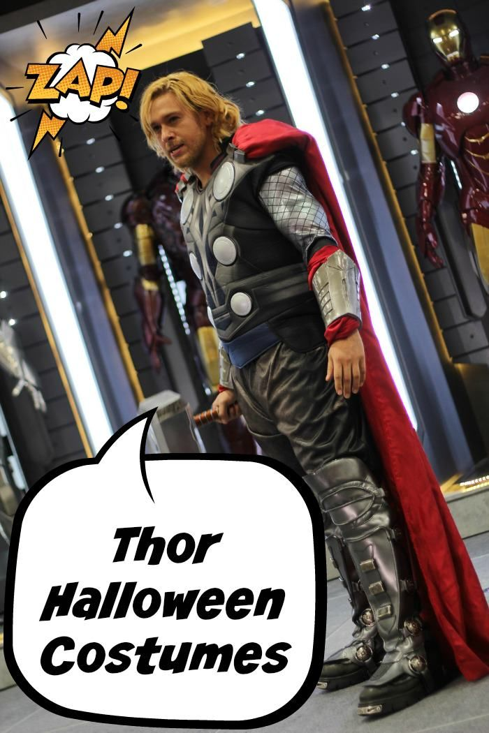 Looking for Thor Halloween costumes? Here we have styles and sizes for the entire family. Thor Halloween costumes for boys and girls, and men and women.