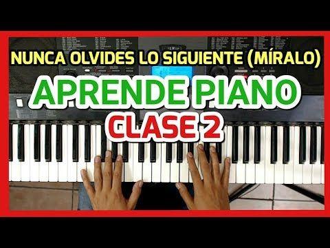 Clase 2 - Como Tocar Piano Para Principiantes / Fàcil y ...
