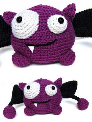 Free pattern for 'Taggle the Monster'!.