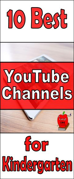 YouTube is an awesome resource in the classroom. Here is a list of the 10 Best YouTube Channels for Kindergarten. Engaging and fun!