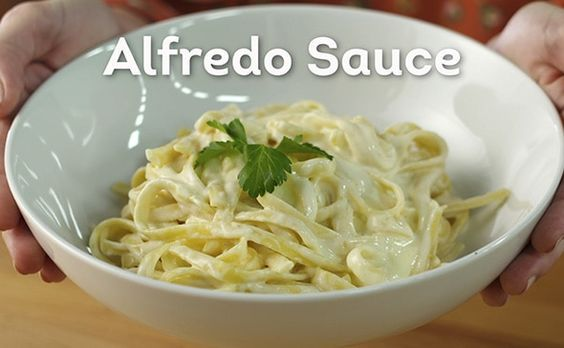 Olive Gardens Alfredo Sauce recipe straight from their website! YUM!