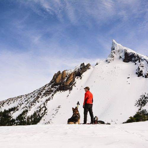 """Just before the end of my Christmas break and a long trek back to Bozeman, my dad, our dog Callie and I went on an adventure in the Oregon Cascades; a mountain range that I consider home. We went roughly nine miles on snow-shoes, covering much of the Mount Thielsen trail. Here are some photographs that I captured of this spectacular Oregon day."" - Colleen Winn on Exposure"