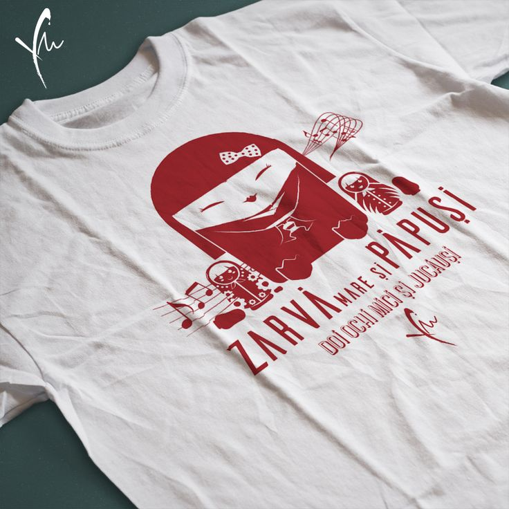 Tricou cu text imprimat: Zarva mare si papusi, doi ochi mici si jucausi. Il gasiti la http://ya-ma.ro/produs/zarva-mare-si-papusi-tricou/