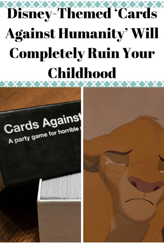 Disney-Themed 'Cards Against Humanity' Will Completely Ruin Your Childhood