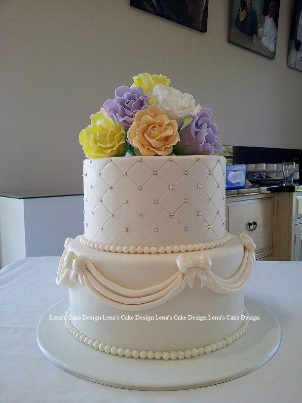 Best 57 Wedding Cakes by Lenas Cake Design ideas on Pinterest