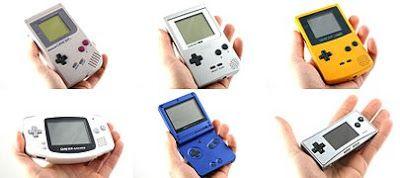 Daftar Seri Game Boy dari Tahun ke Tahun