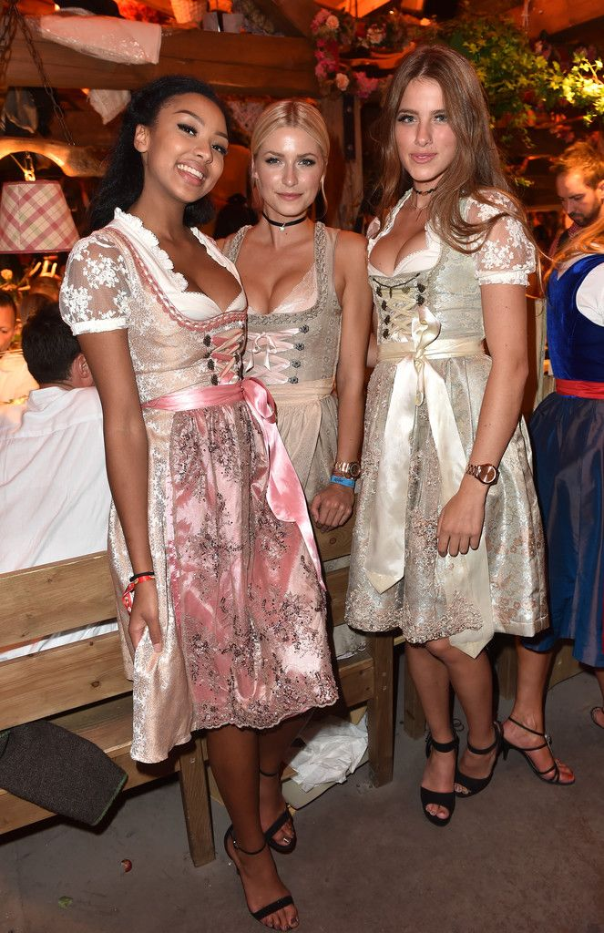 Janna Wiese Photos Photos Celebrities Enjoy Oktoberfest