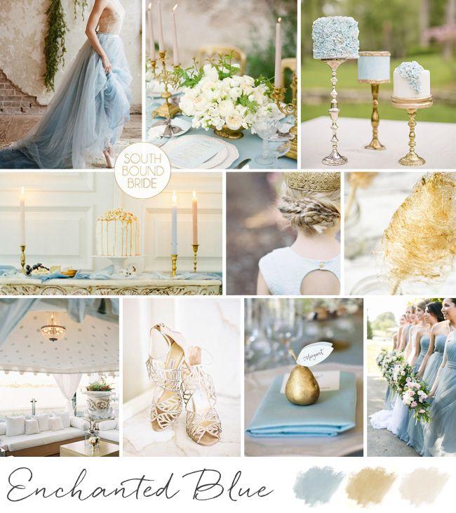 10 Blue Wedding Colour Palettes | SouthBound Bride…