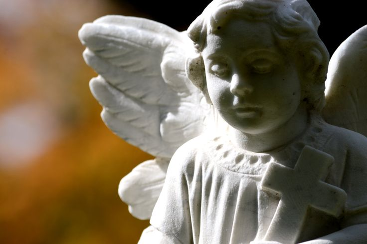 Autumn Angel; Shadow and Light Highlights an Angel's Beauty; Victorian Angel Statue; Custom Orders Available by MissmacMemories on Etsy