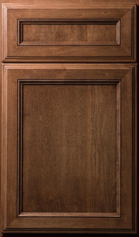 Lakeview Door Done In Maple Cocoa Finish Door Brown