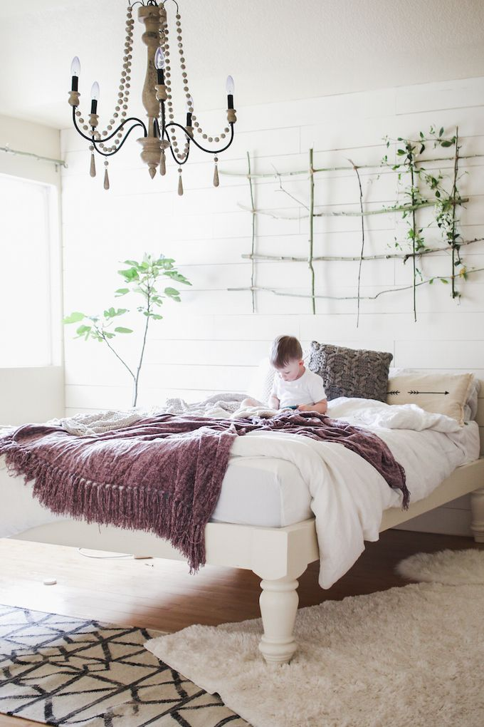 Vintage Whites Blog Vintage Modern Bedroom Makeover With Cocoon By Sealy A Giveaway