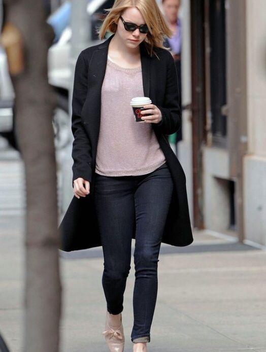 Emma Stone street style   Fashion Inspiration   Pinterest